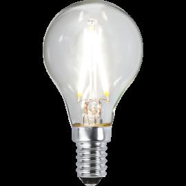 LED-Lampa E14 Ø45 lm270/26w Clear , hemmetshjarta.se