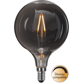 LED-lampa E14 Decoled Smoke G95 Dim , hemmetshjarta.se