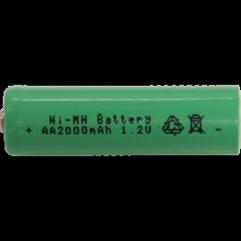 Laddbart batteri AA 1,2V 2000 mAh Ni-MH , hemmetshjarta.se
