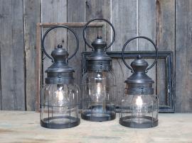 Vecka 26 Fransk stallykta inkl. glödlampa & timer H41 / Ø16,5 cm 1 st , hemmetshjarta.se