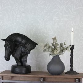Hästhuvud/Föl Stående 28 cm , hemmetshjarta.se