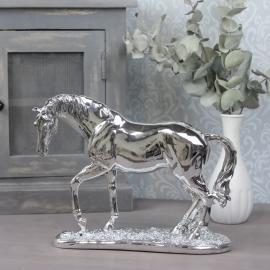 Häst 29x31,8x12,5 cm - silver , hemmetshjarta.se
