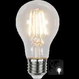 LED-Lampa E27 Sensor Ø60 lm800/60w Clear , hemmetshjarta.se
