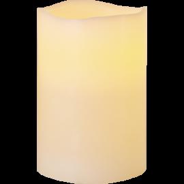 Batteridriven Blockljus LED Big Elfenben 10x15cm , hemmetshjarta.se