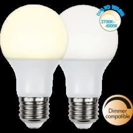 LED-Lampa E27 Ø60 Dim To Warm lm806/60w Frostad , hemmetshjarta.se