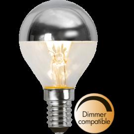 LED-Lampa E14 Top Coated Ø45 Dim lm250/25w Silver , hemmetshjarta.se