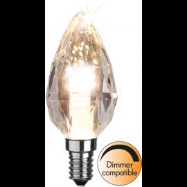 LED-Lampa E14 Diamond Ø40 Dim lm380/34w , hemmetshjarta.se