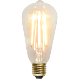 LED-lampa E27 Soft Glow ST64 , hemmetshjarta.se