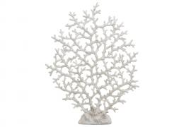 Korall Smal Vit Poly 2x36x47cm , hemmetshjarta.se