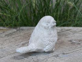 Fågel för dekoration H9 / L12.5 / W7 cm Franskgrå , hemmetshjarta.se