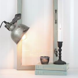 Lampa/Clip El - cloudy/grå ** , hemmetshjarta.se