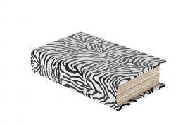 Boklåda Zebra 21x13x5cm , hemmetshjarta.se