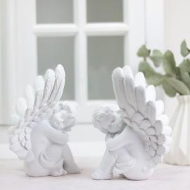 Sittande änglar 2-pack , hemmetshjarta.se