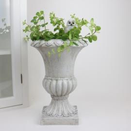 Kruka Pokal antikvit - 30 cm , hemmetshjarta.se