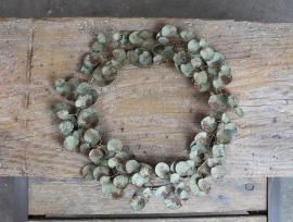 Fransk Krans Eucalyptus 48 cm Metall , hemmetshjarta.se
