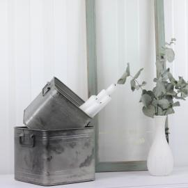 Plant Kvadrat 2-pack 20/16 - cloudy/grå , hemmetshjarta.se