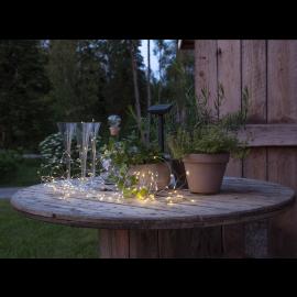 Solcells-ljusslinga Dew Drop , hemmetshjarta.se