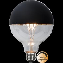 LED-lampa E27 Top Coated G125 Dim , hemmetshjarta.se
