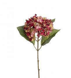 Konstgjord Hortensia 40 cm , hemmetshjarta.se
