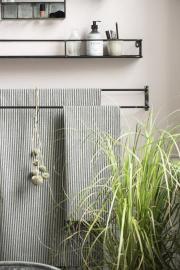 Handduksstång för vägg 2 stavar 80,5 cm , hemmetshjarta.se