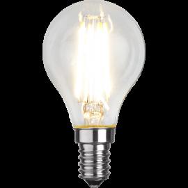LED-Lampa E14 Ø45 lm470/40w Clear , hemmetshjarta.se