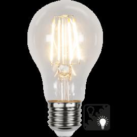 LED-Lampa E27 Sensor Ø60 lm420/37w Clear , hemmetshjarta.se