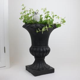 Kruka Pokal svart - 30 cm , hemmetshjarta.se