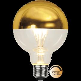 LED-Lampa E27 Top Coated Ø95 lm330/31w Gold , hemmetshjarta.se