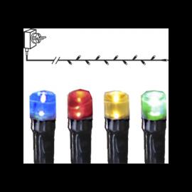 Ljusslinga Utomhus EL Serie Micro LED Multi 120 ljus 720cm , hemmetshjarta.se