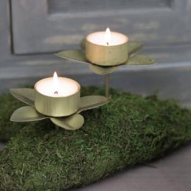 Hållare Värmeljus till flaska/dekoration - mässing 4-pack , hemmetshjarta.se