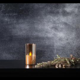 LED Blockljus M-Twinkle Amber 5x10 , hemmetshjarta.se