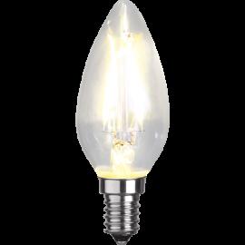 LED-Lampa E14 Ø35 lm250/25w Clear , hemmetshjarta.se