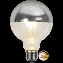LED-Lampa E27 Top Coated Ø95 lm330/31w Silver , hemmetshjarta.se