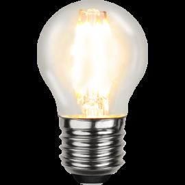LED-Lampa E27 Ø45 lm470/40w Clear , hemmetshjarta.se