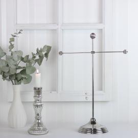 Smyckeshängare Silver 44 cm , hemmetshjarta.se
