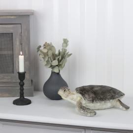 Sköldpadda Natur Poly 30x30x10cm , hemmetshjarta.se