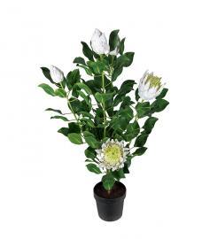 Konstgjord Protea. 120 cm , hemmetshjarta.se