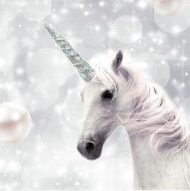 Servett - Unicorn , hemmetshjarta.se