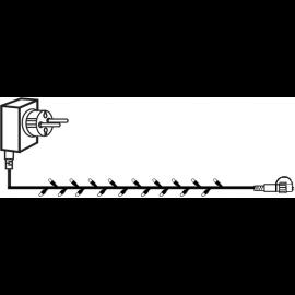Utomhusdekoration System Decor EL Ljusslinga Start Varmvit 1000cm , hemmetshjarta.se