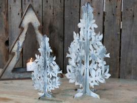 Fil de fer julgran Järn H30 / Ø18 cm antikt vit 1 st , hemmetshjarta.se