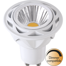 LED-Lampa GU10 MR16 Spotlight Cob Reflector Dim , hemmetshjarta.se