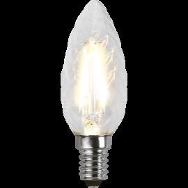 LED-Lampa E14 Twist Ø35 lm250/25w Clear , hemmetshjarta.se