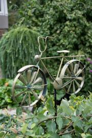 Trädgårdsstick Cykel Metall 52x35/130cm , hemmetshjarta.se