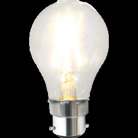 LED-Lampa B22 Ø60 lm220/23w Clear , hemmetshjarta.se