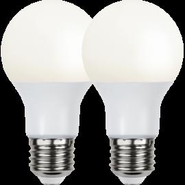 LED-Lampa E27 Ø60 lm806/60w Frostad Basic 2-pack , hemmetshjarta.se