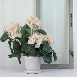 Konstgjord Hortensia 37 cm Rosa , hemmetshjarta.se