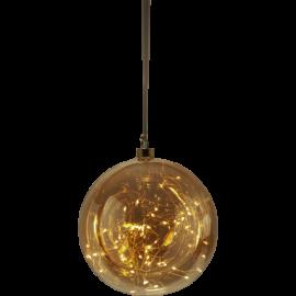 Glaskula Glow Amber 20-80 , hemmetshjarta.se
