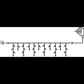 Utomhusdekoration System 24V Istappsslinga Start Varmvit 300x40cm , hemmetshjarta.se