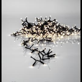 Ljusslinga Utomhus EL Crispy Ice White Vit 1200 ljus 2500cm , hemmetshjarta.se