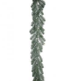 Konstgjord Girlang Gran med frost 180 cm , hemmetshjarta.se